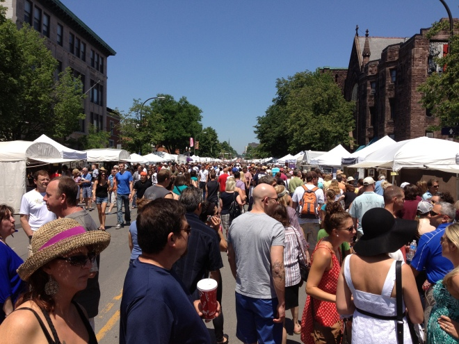 Buffalo's Allentown art festival