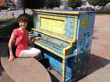 Pianos in Public Buffalo