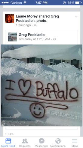 Buffalo snow pictures